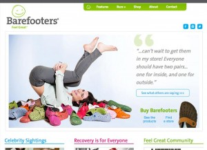 Barefooters website