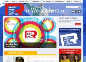 Regent Park Film Festival website