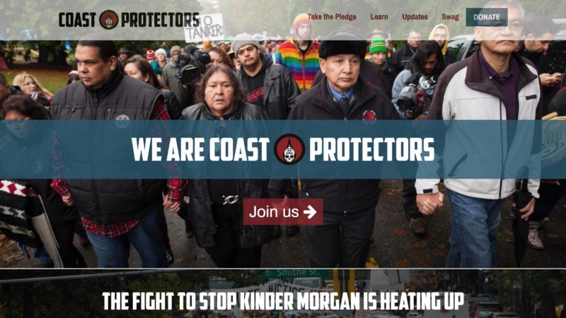 Coast Protectors website screen capture