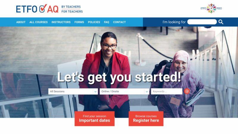 AQ website screen capture