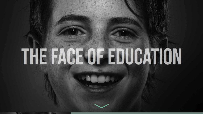 I Believe in Public Education website screen capture